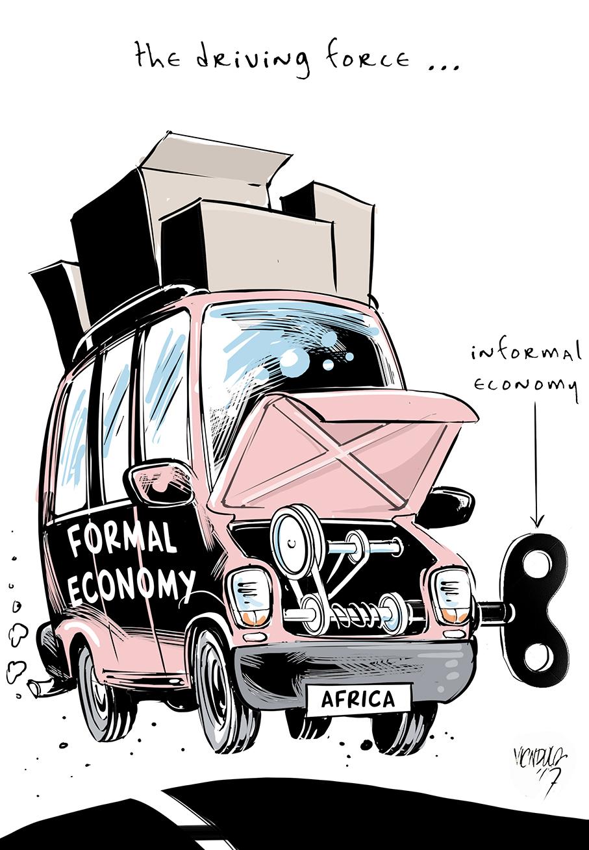 CARTOON: Informal economies