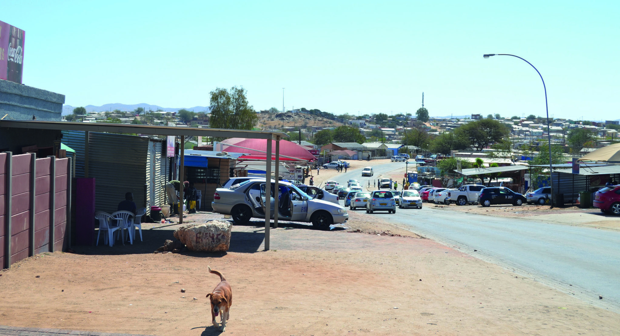 The transformation of Windhoek's Eveline Street