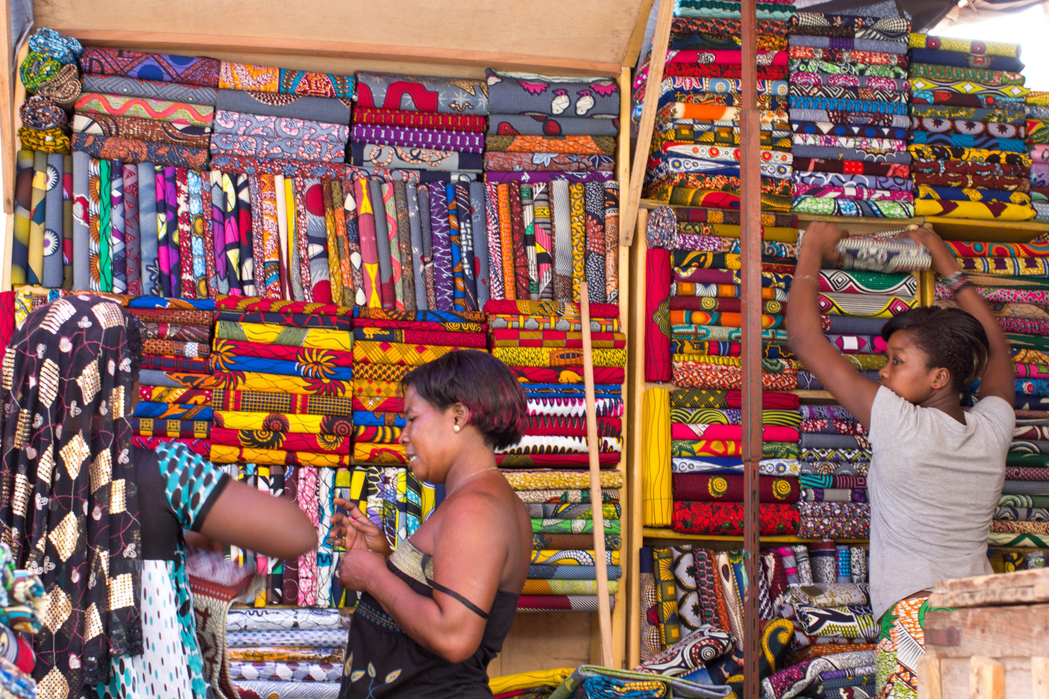 Togo's next generation of textile traders step up