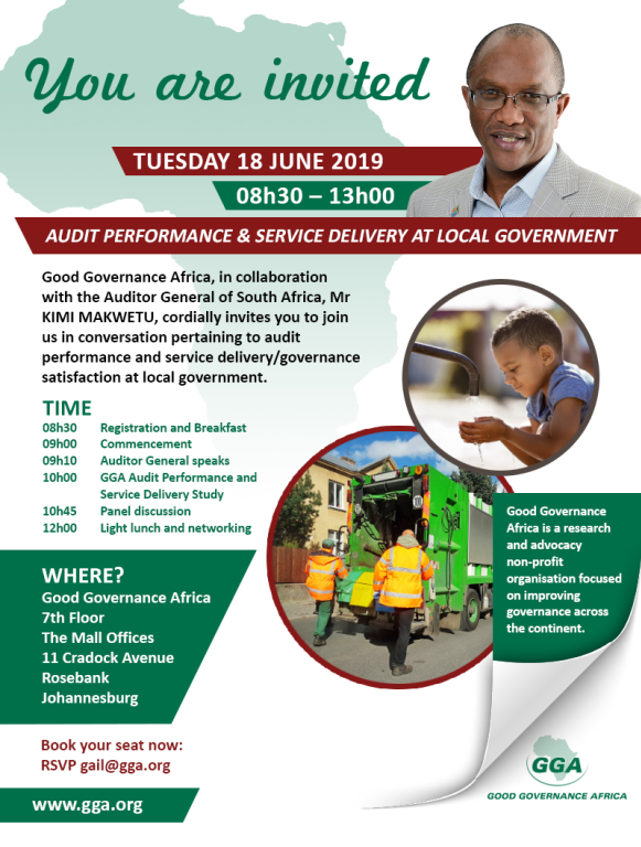 Audit Performance & Service Delivery at Local Government