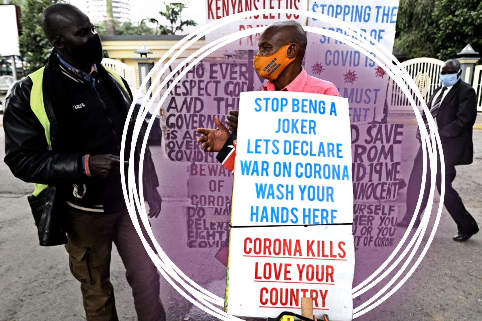 COVID-19: In Kenya, social media are aflame
