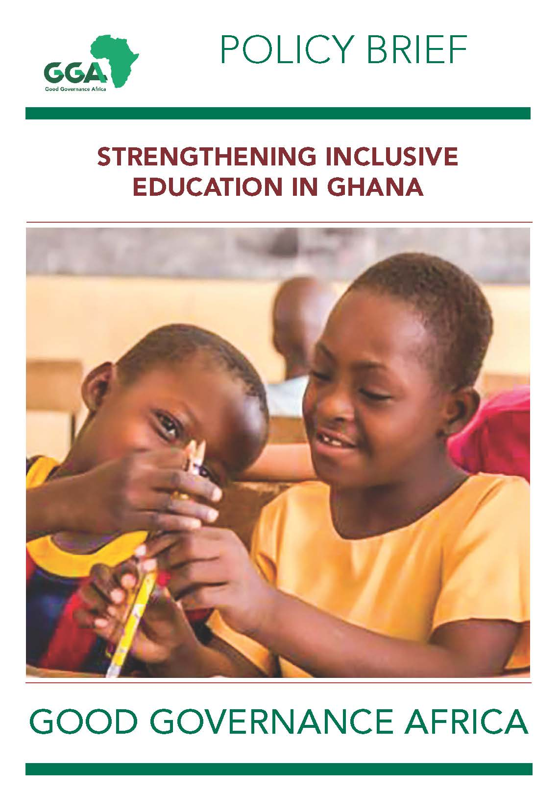 Strengthening Inclusive Education in Ghana