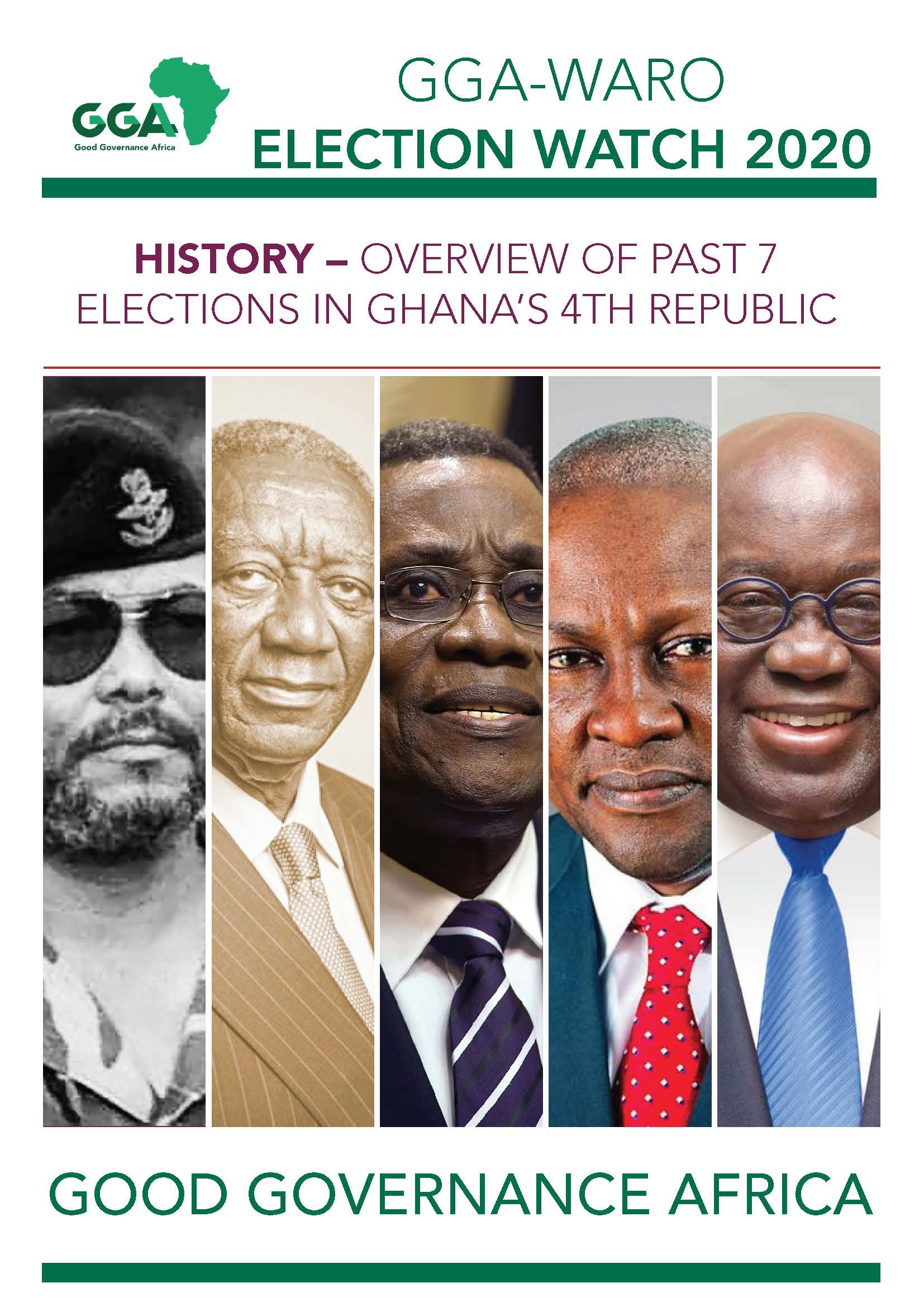 Overview Of Past 7 Elections In Ghana's 4th Republic