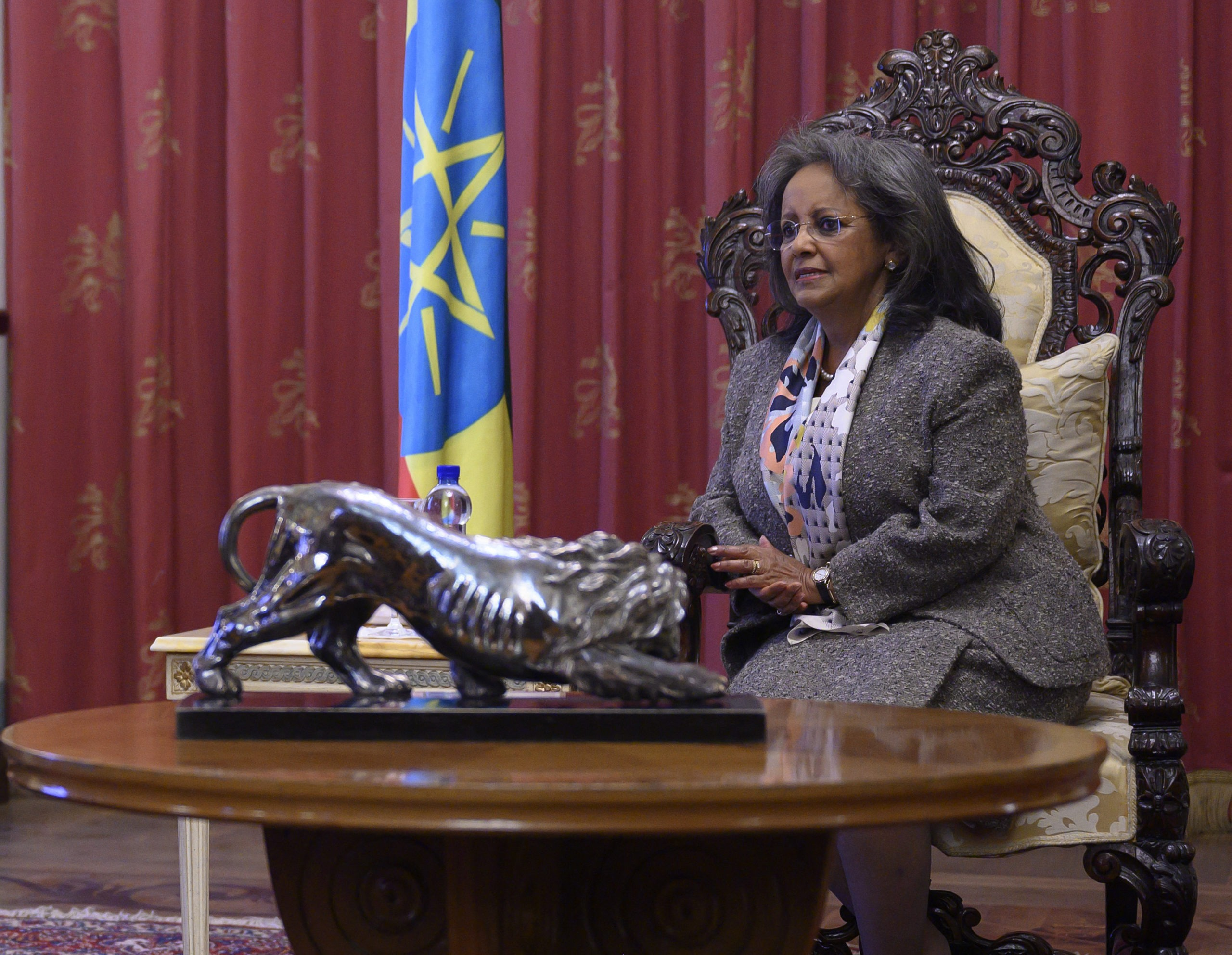 Ethiopia's woman at the top
