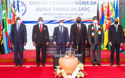 SADC technical deployment to Mozambique