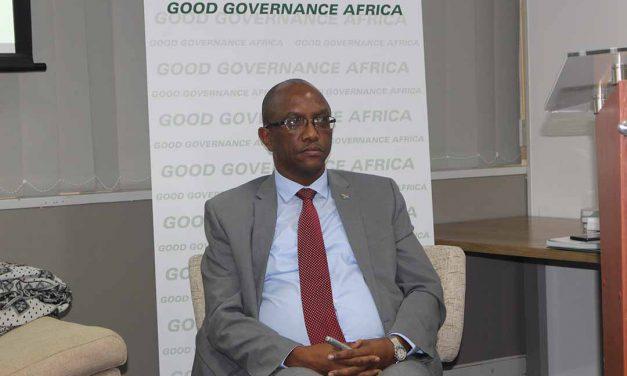 Auditor-General of South Africa Kimi Makwetu passing