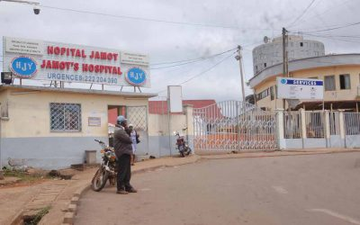 The cracks in Cameroon's health system