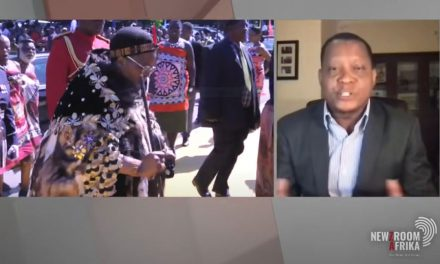 Chris Maroleng on Newzroom Afrika as he discusses the pro-democracy protests in Eswatini