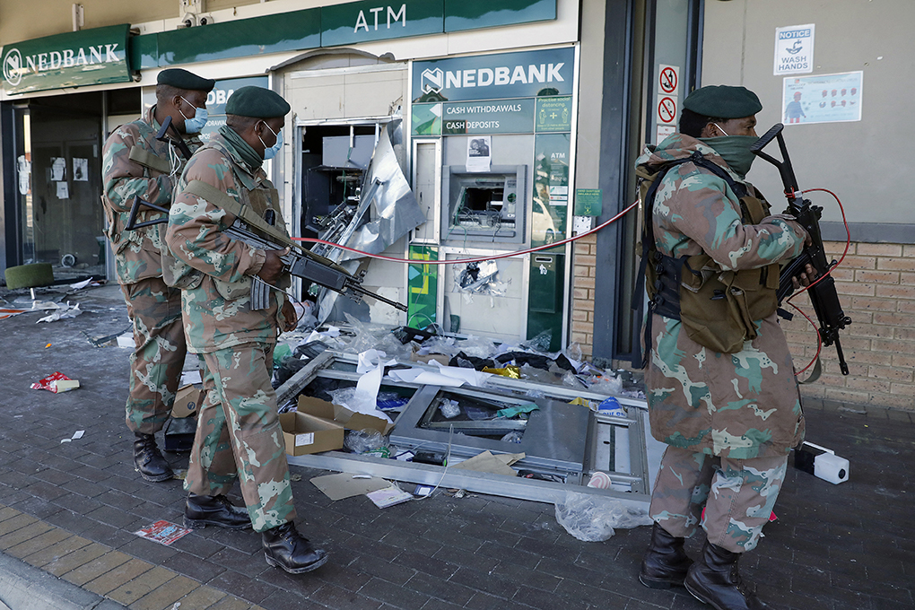 Making sense of South Africa's week of anarchy
