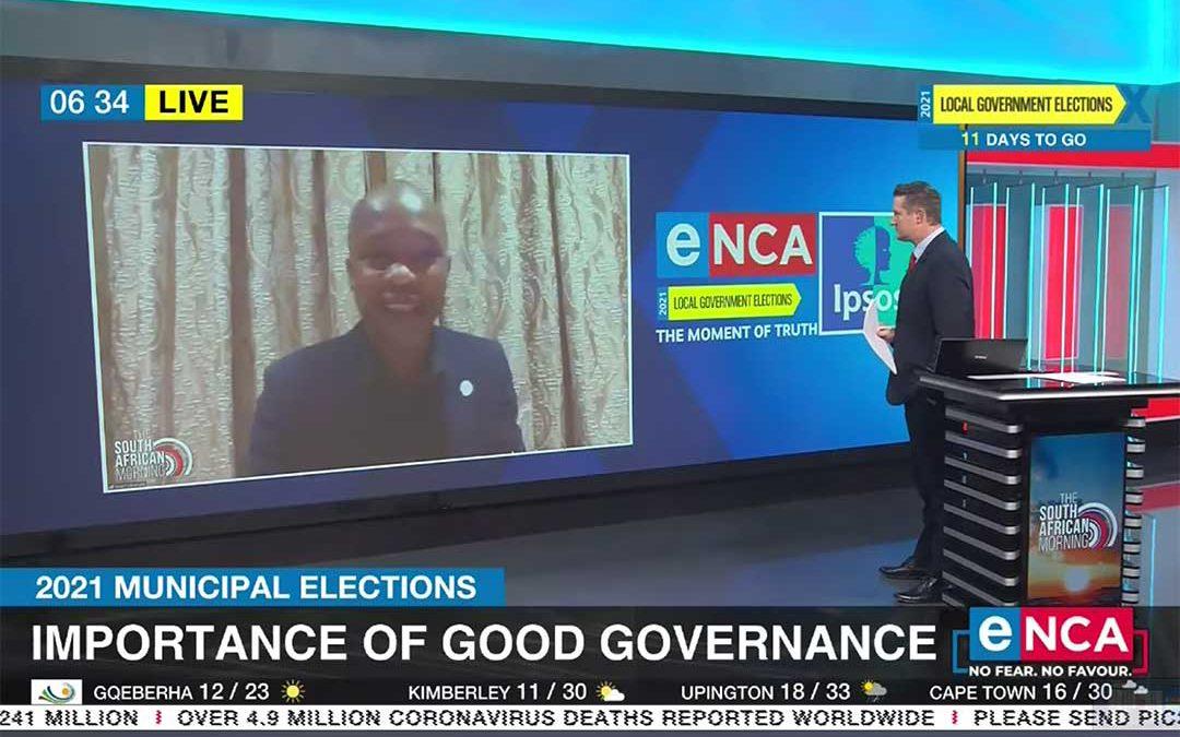 GGA's Stuart Mbanyele on the importance of good governance within municipalities